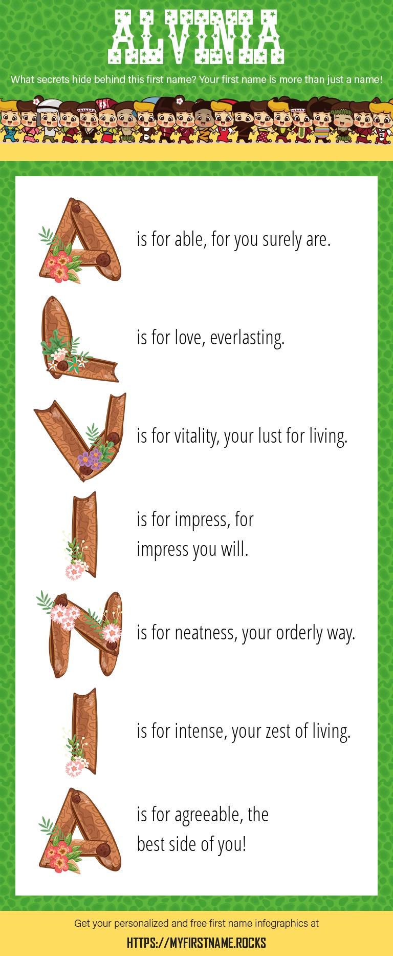 Alvinia Infographics