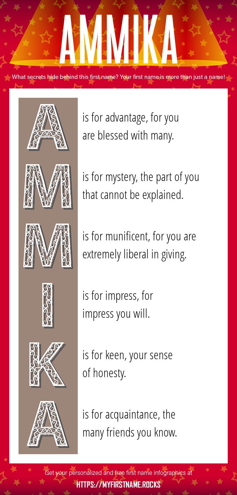 Ammika Infographics