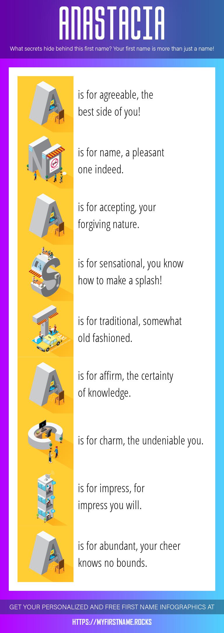 Anastacia Infographics
