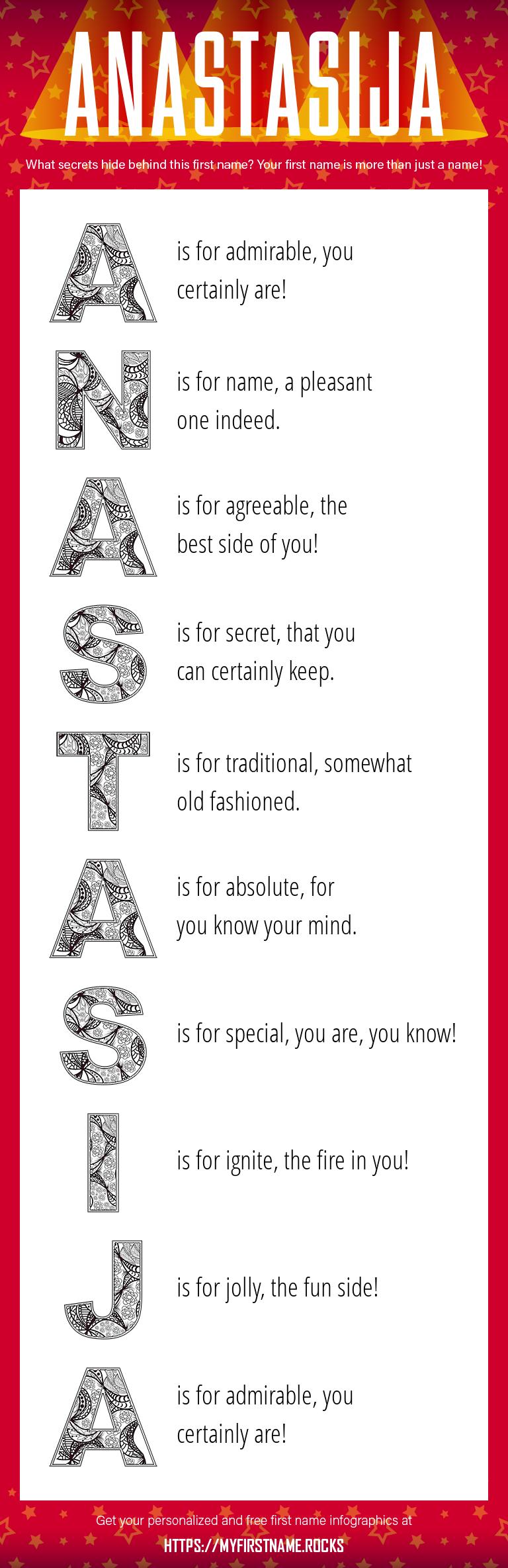 Anastasija Infographics