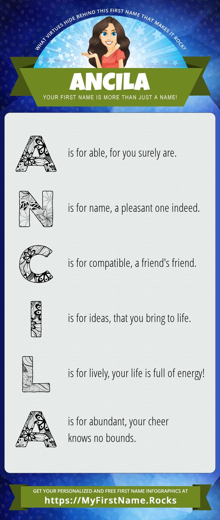 Ancila Infographics