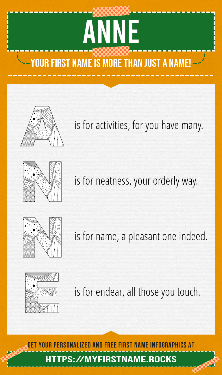 Anne Infographics