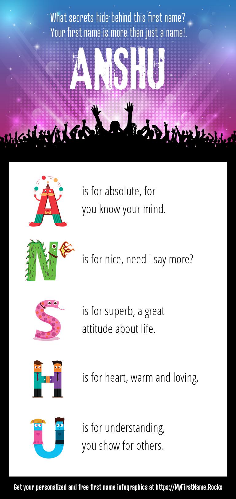 Anshu Infographics