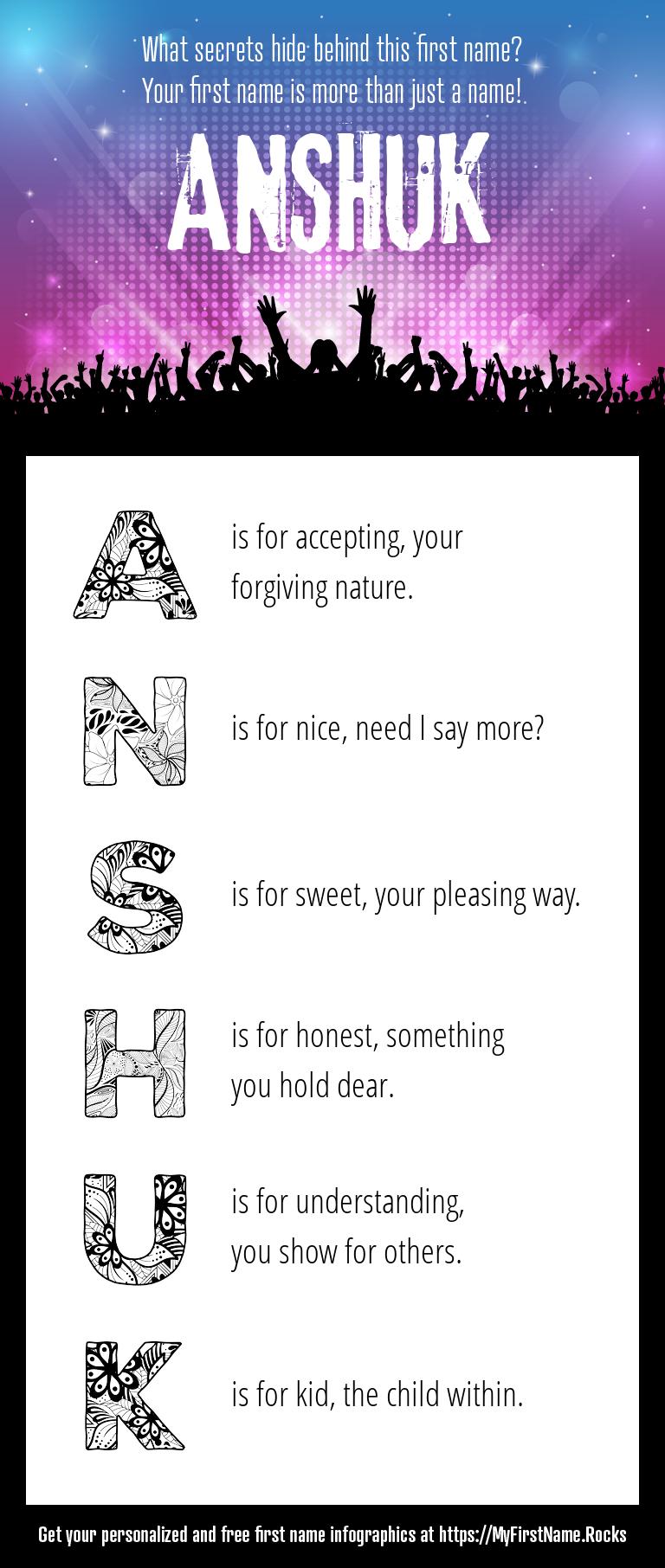 Anshuk Infographics