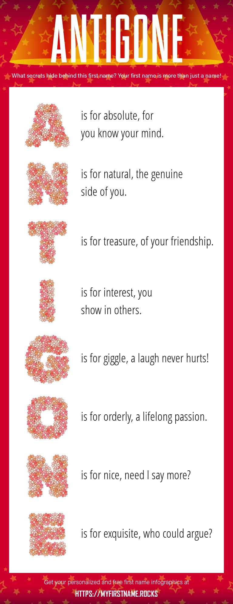 Antigone Infographics