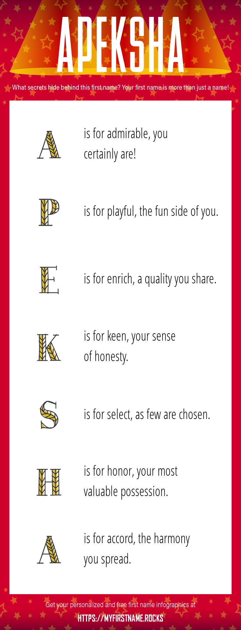 Apeksha Infographics