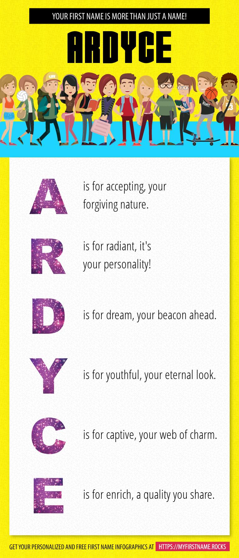 Ardyce Infographics