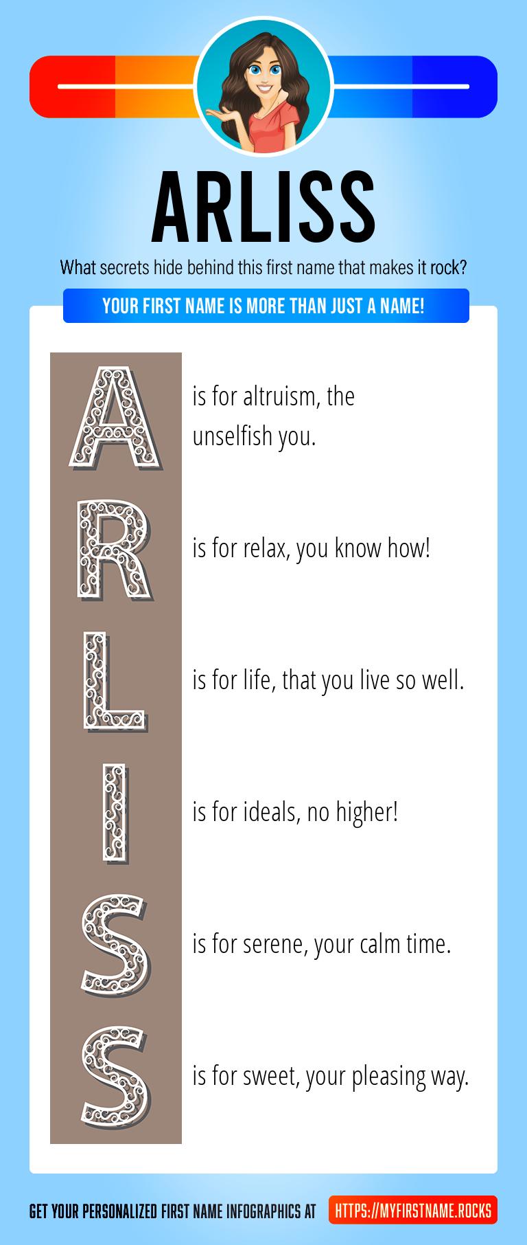 Arliss Infographics