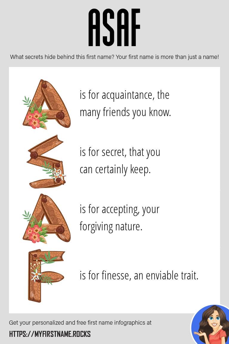 Asaf Infographics