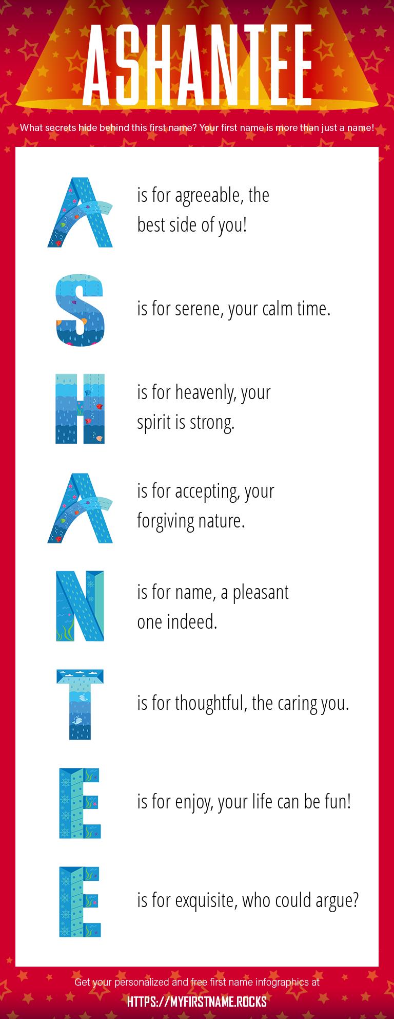 Ashantee Infographics