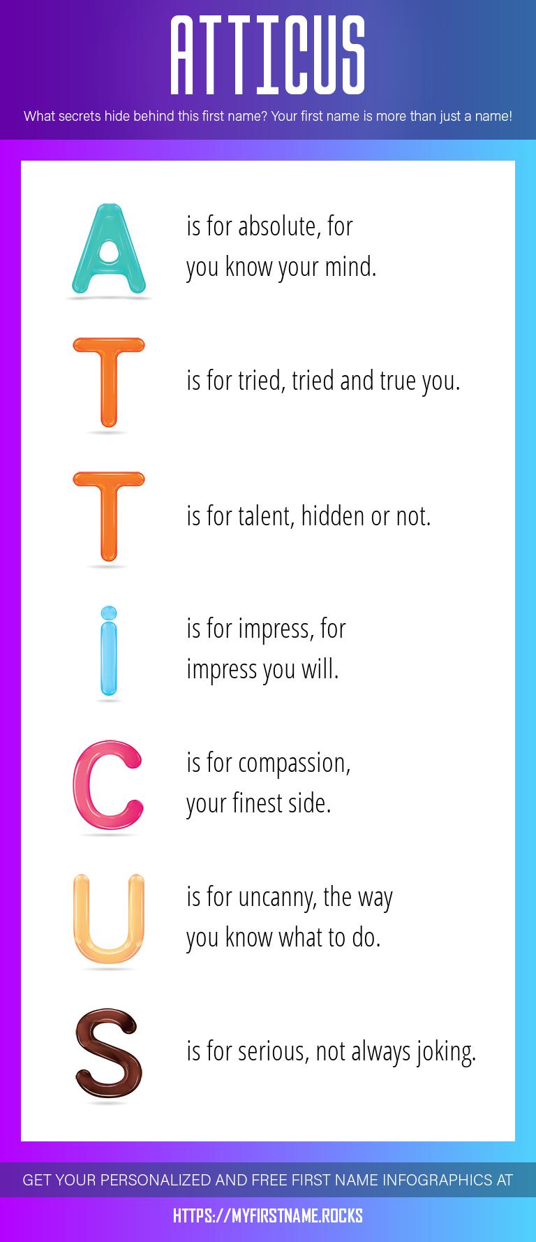 Atticus Infographics