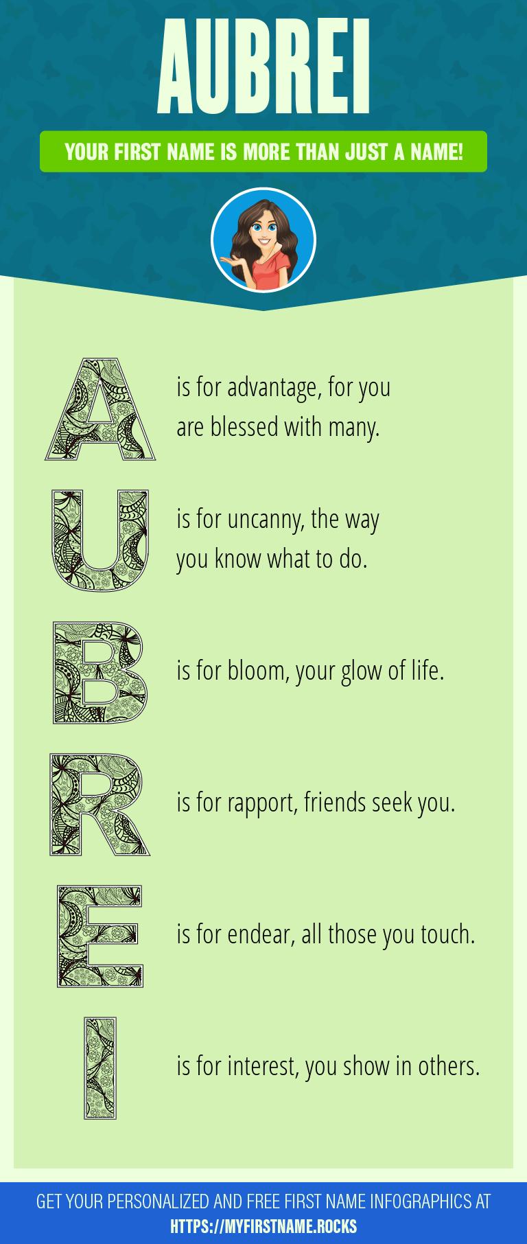 Aubrei Infographics