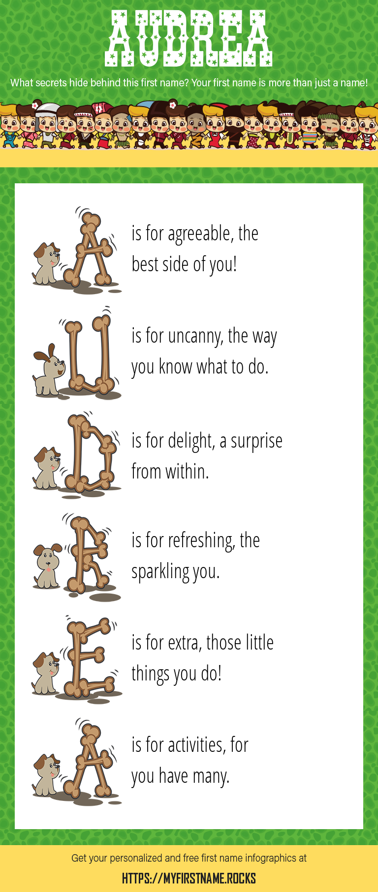 Audrea Infographics