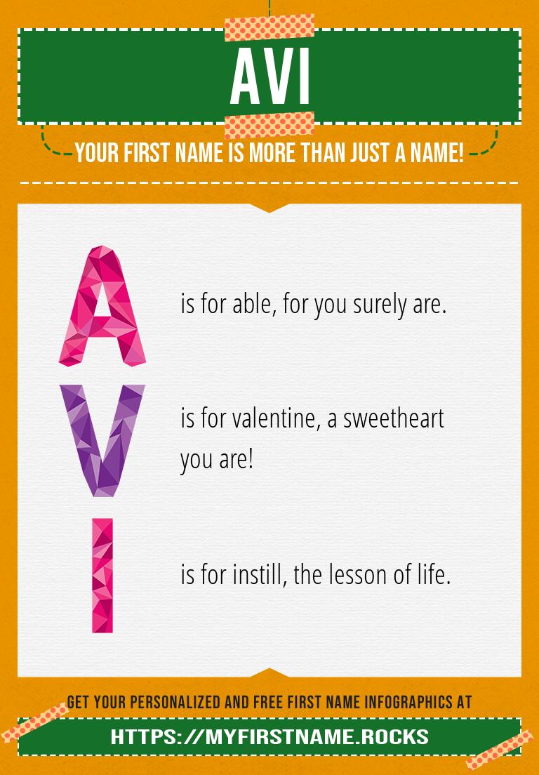 Avi Infographics