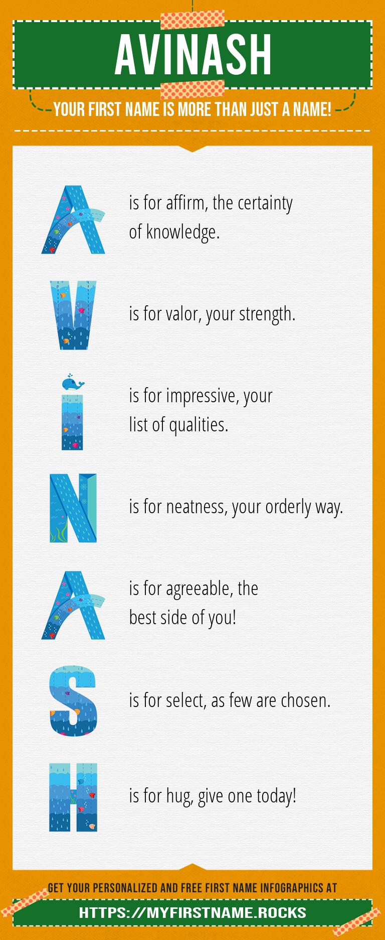 Avinash Infographics