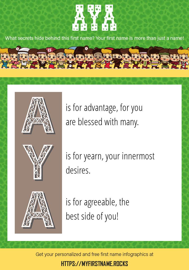 Aya Infographics