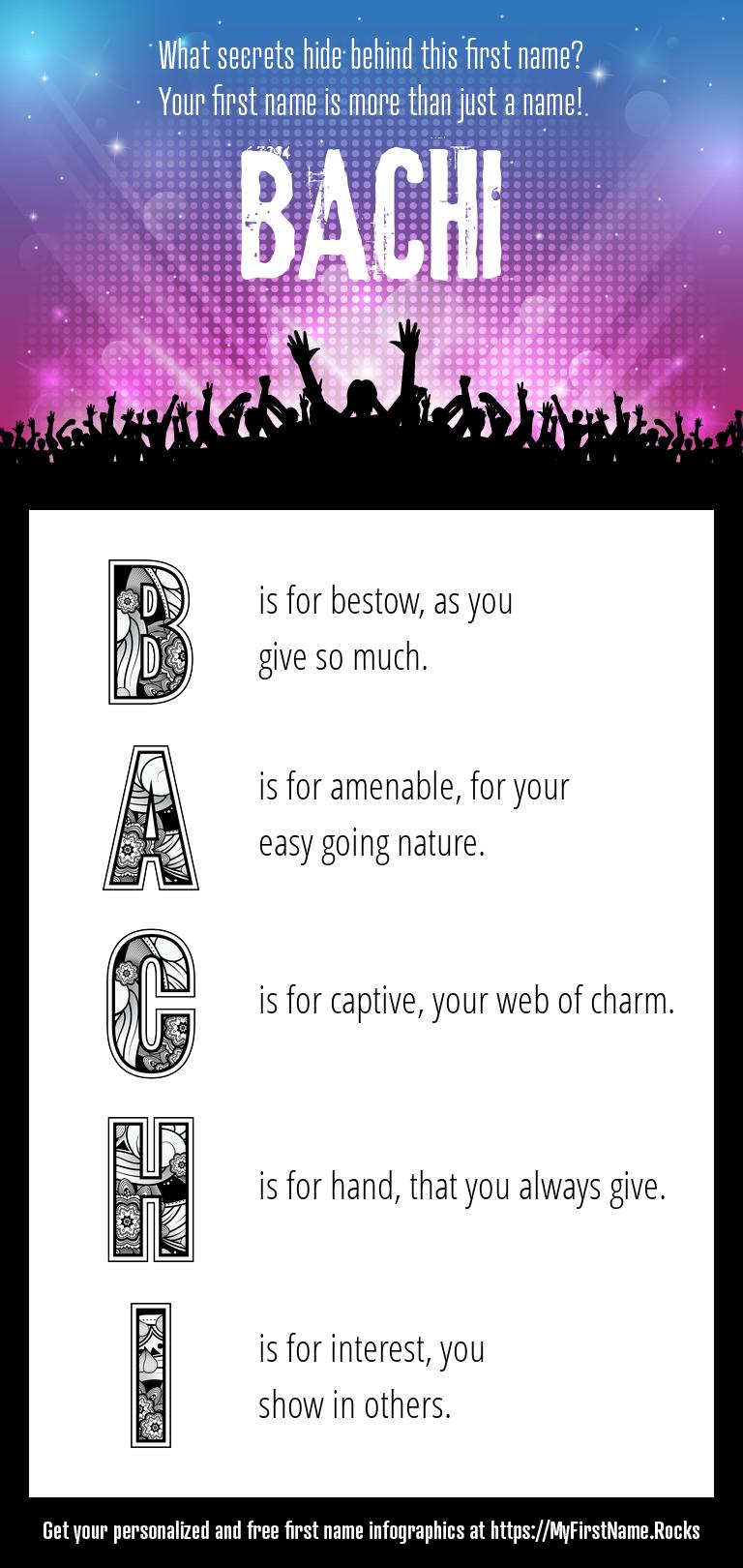 Bachi Infographics