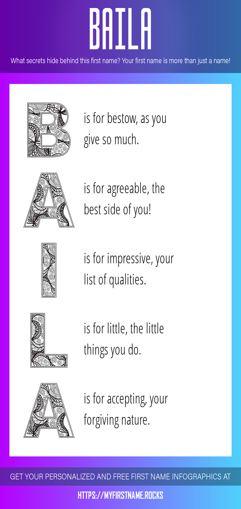 Baila Infographics