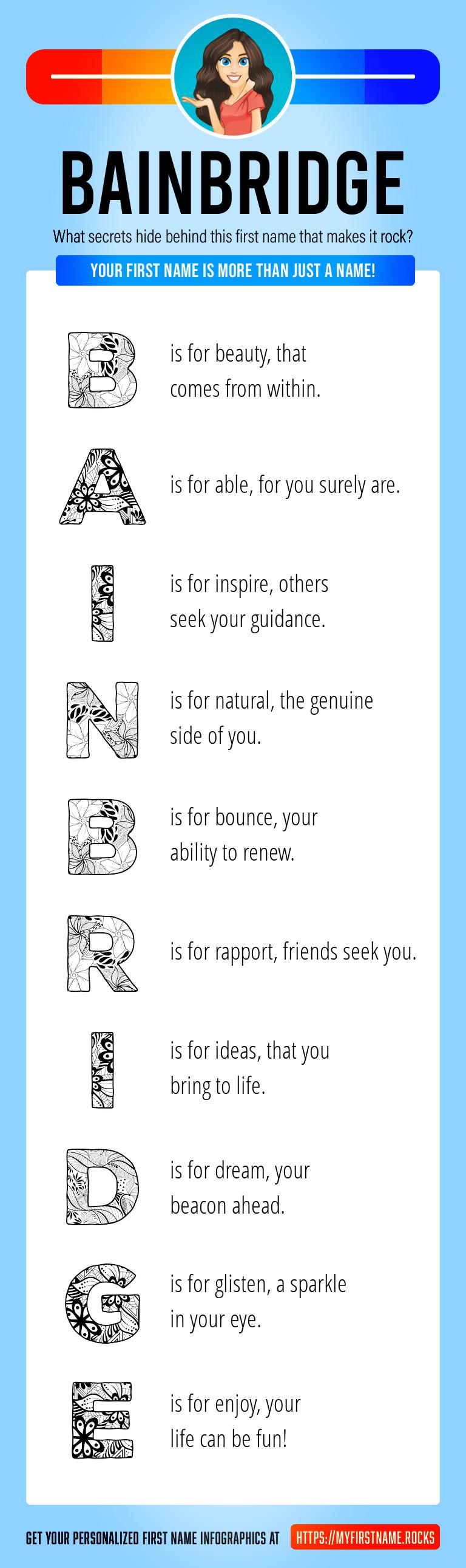 Bainbridge Infographics