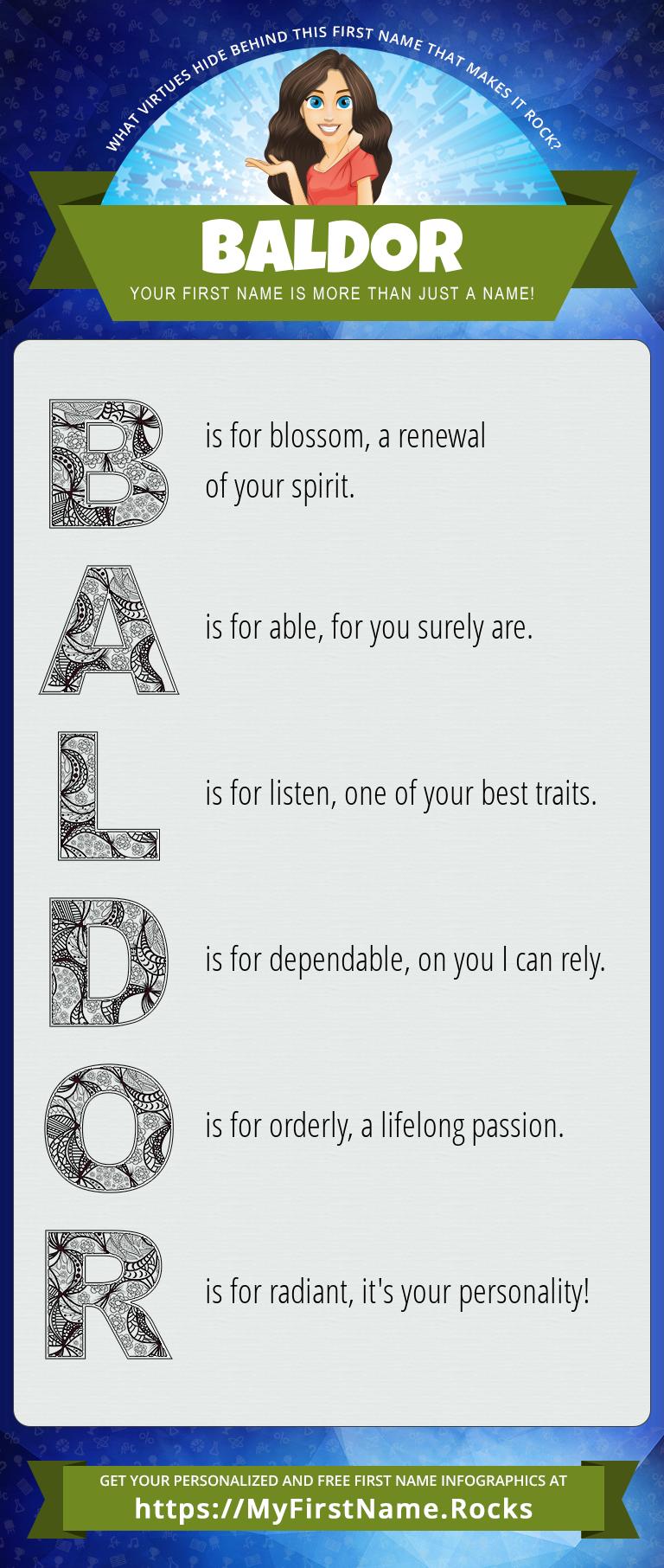Baldor Infographics