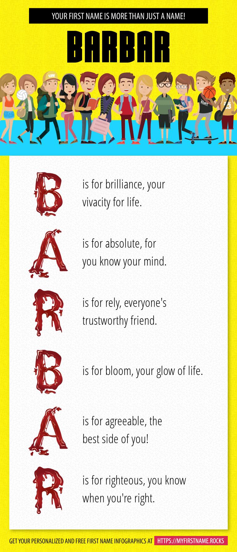 Barbar Infographics