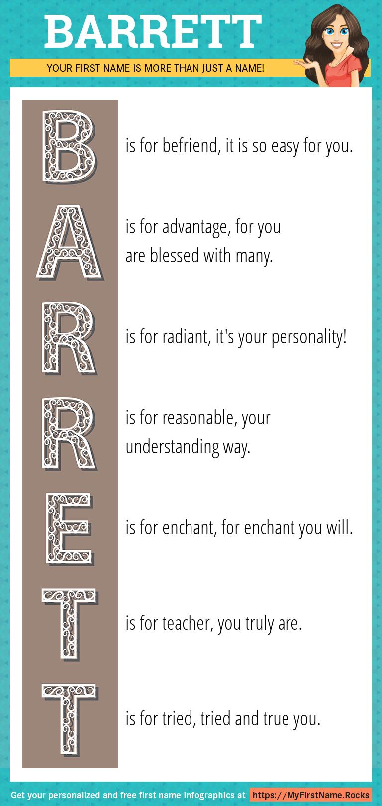 Barrett Infographics