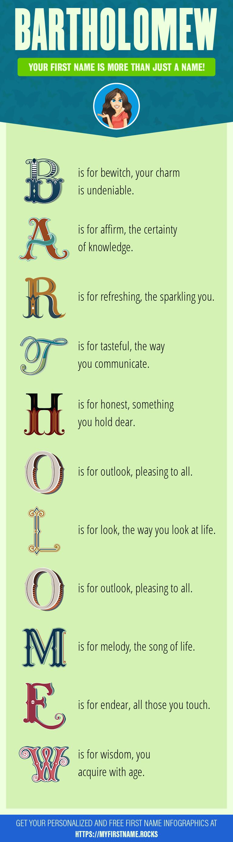 Bartholomew Infographics