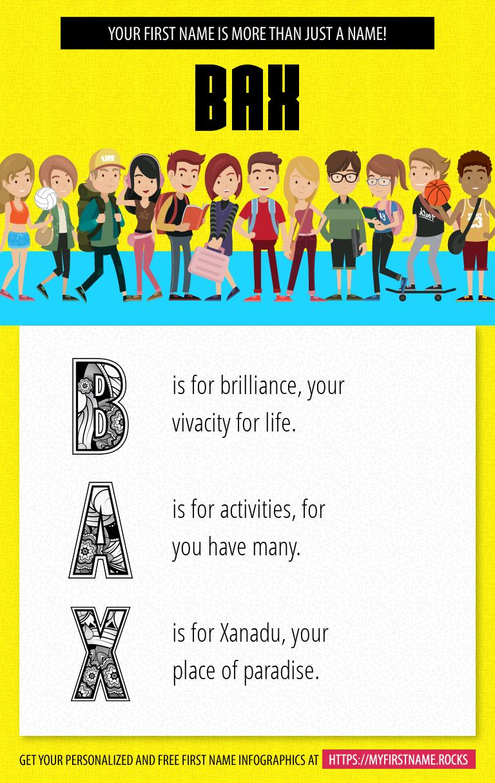 Bax Infographics