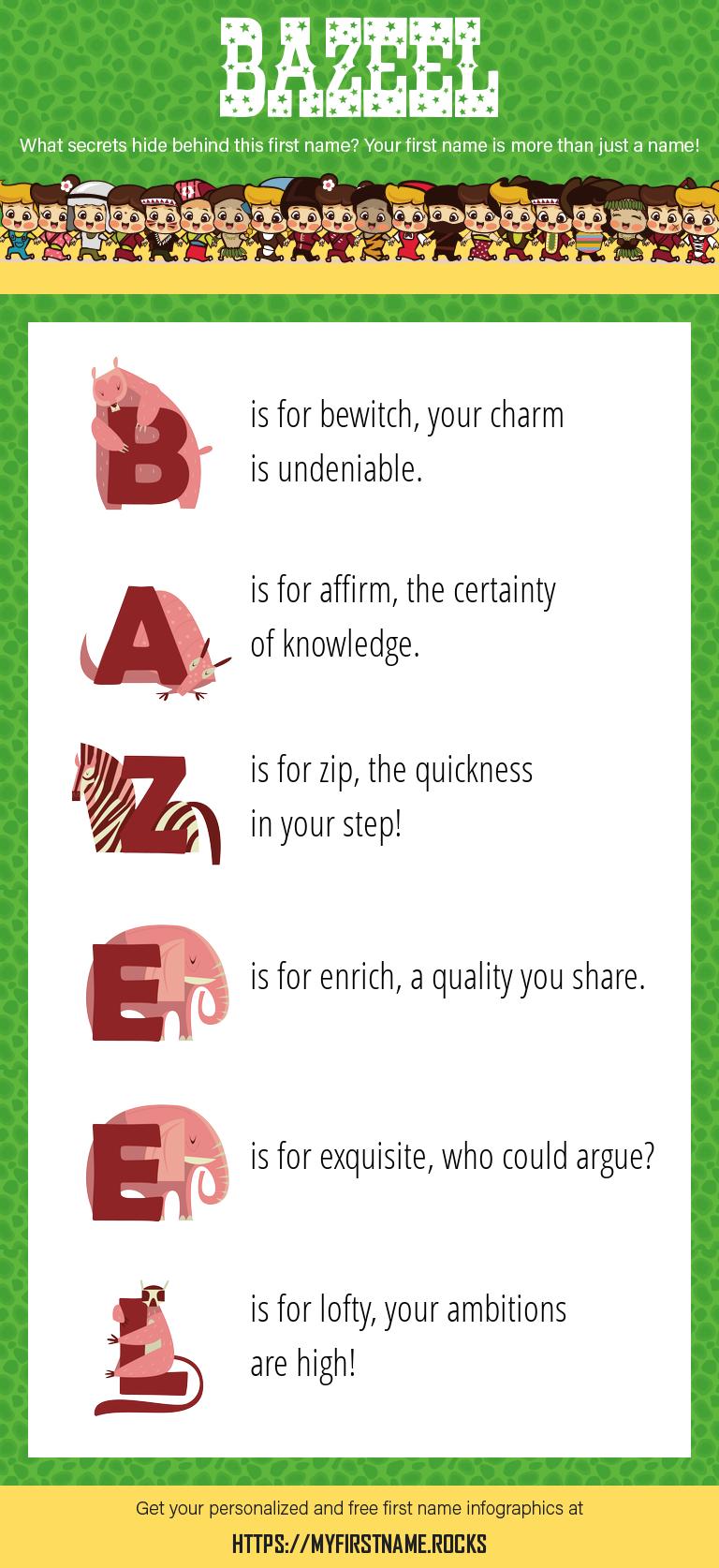 Bazeel Infographics