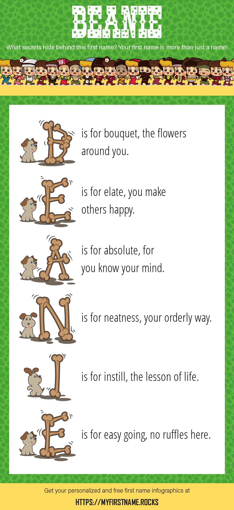 Beanie Infographics
