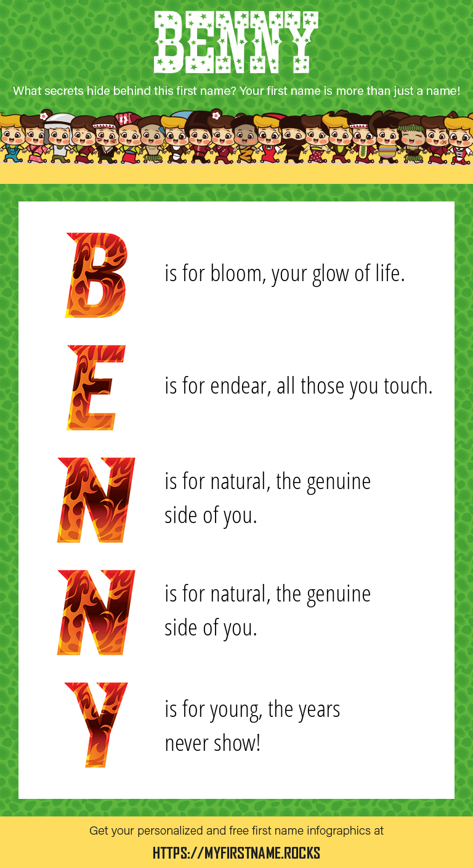 Benny Infographics