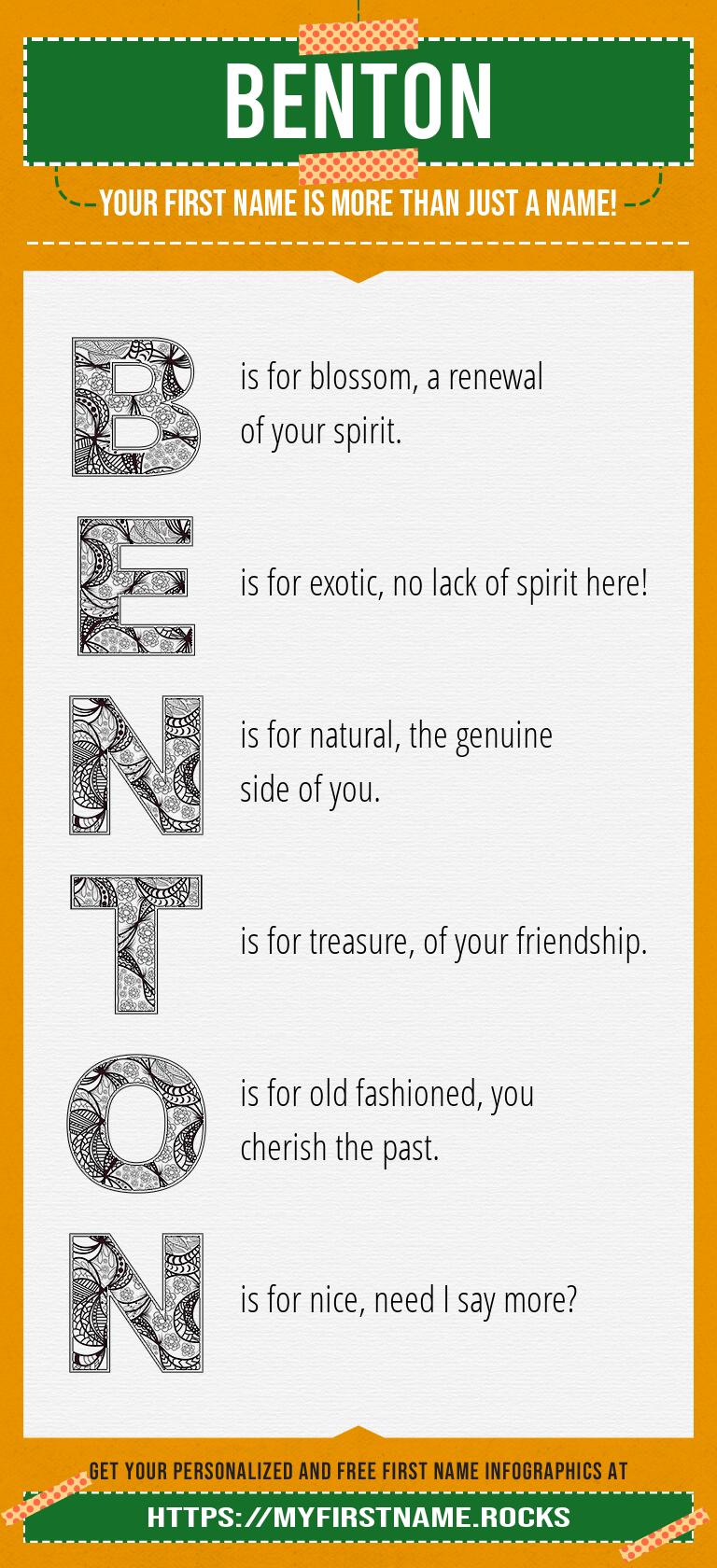 Benton Infographics