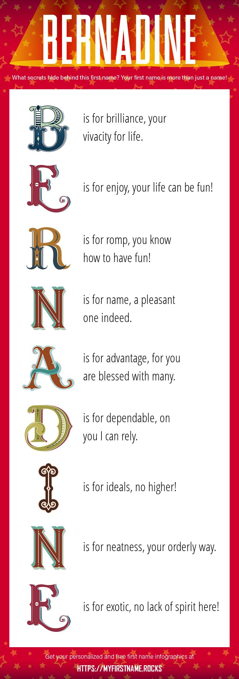 Bernadine Infographics