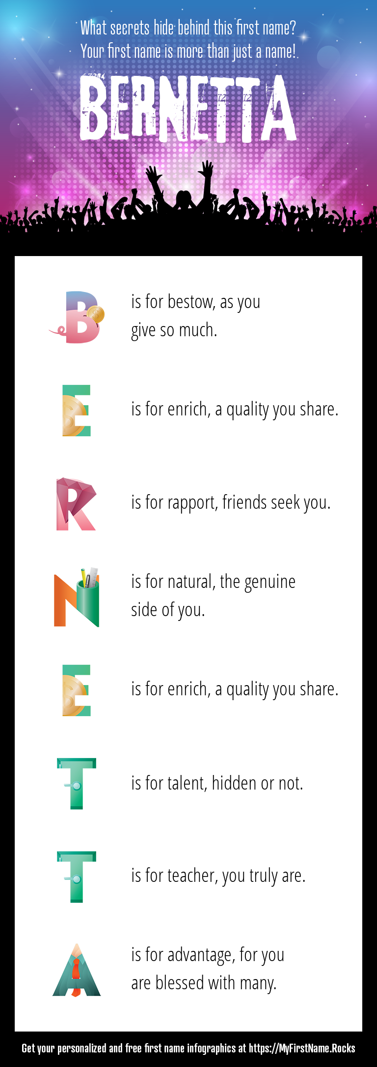 Bernetta Infographics