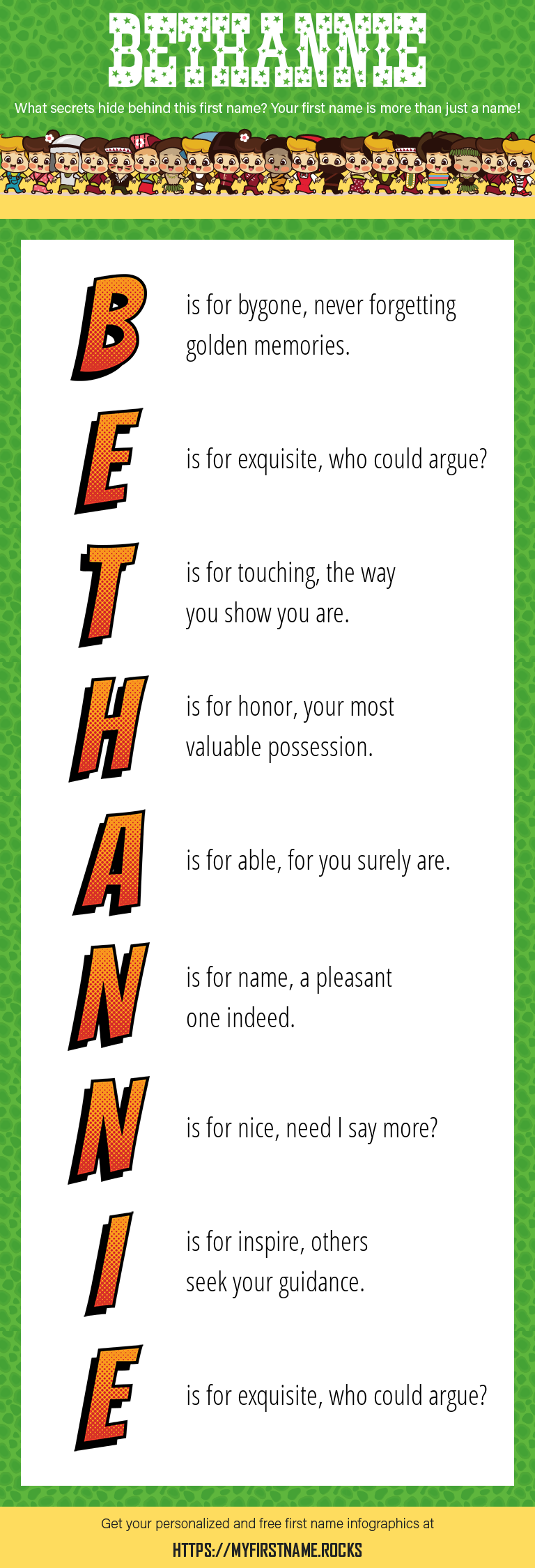 Bethannie Infographics