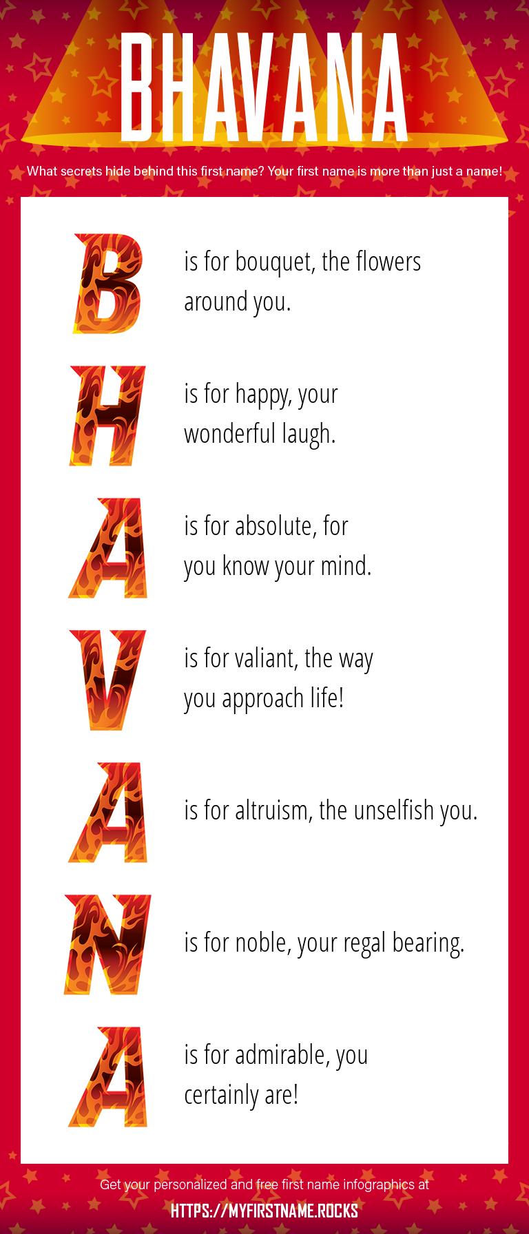 Bhavana Infographics