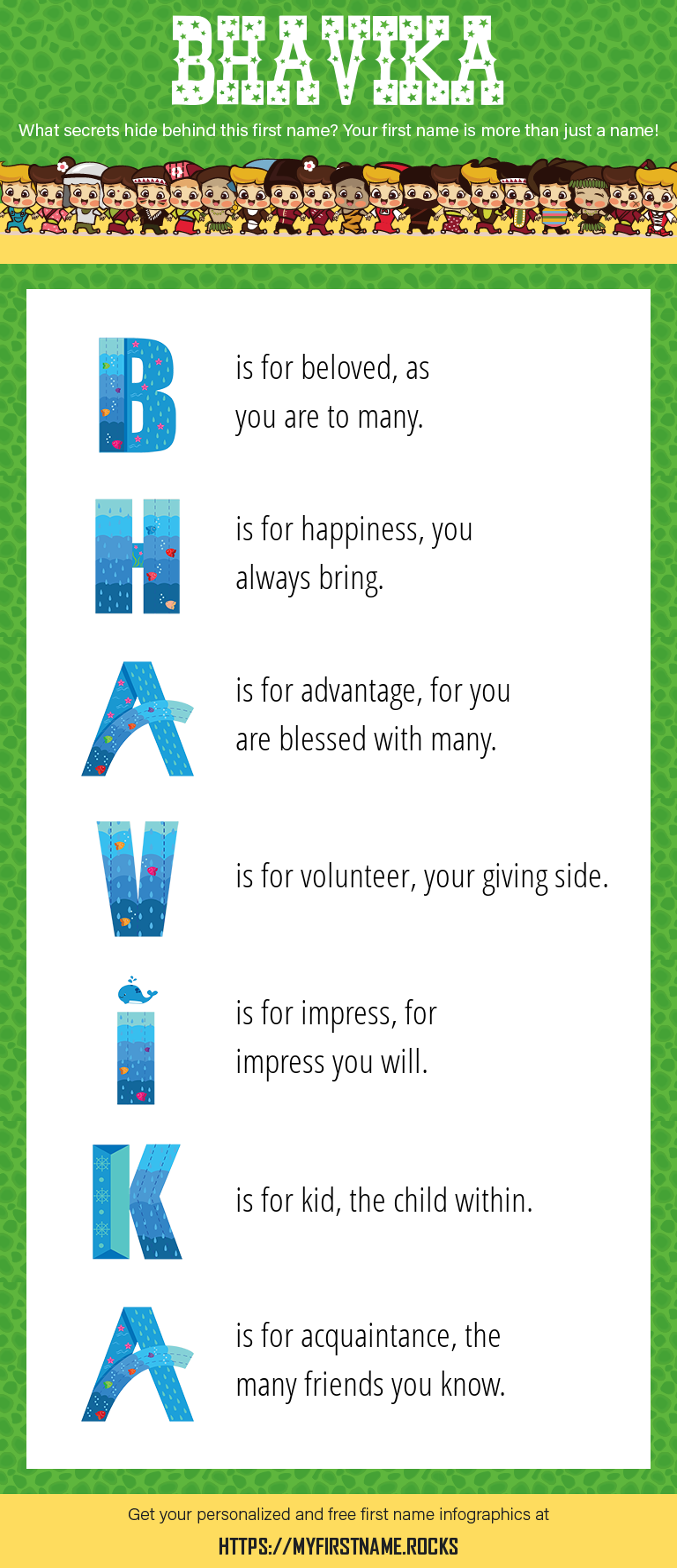 Bhavika Infographics