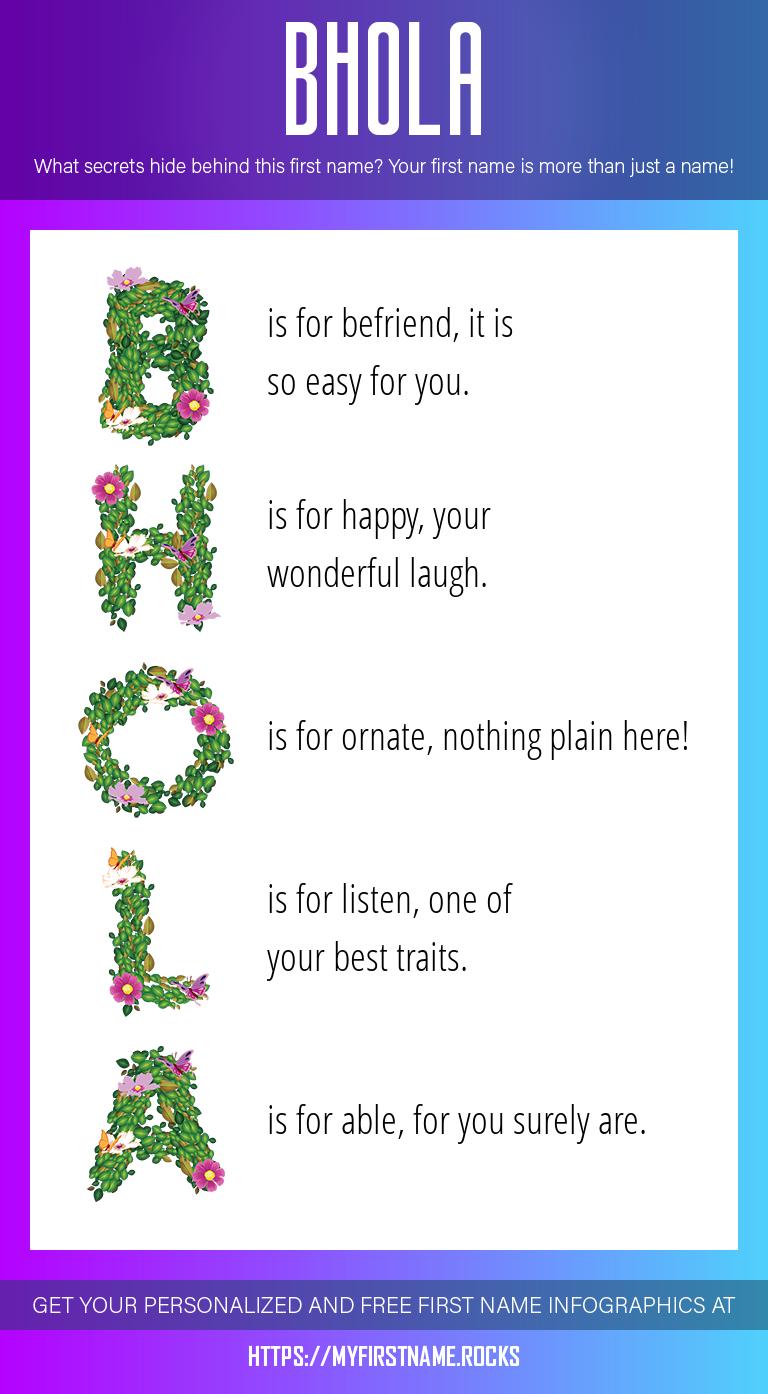 Bhola Infographics