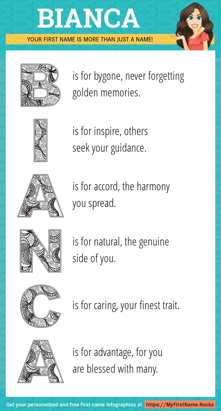 Bianca Infographics