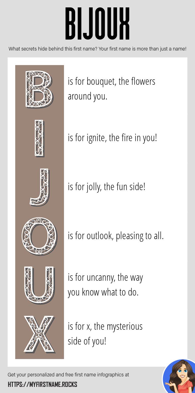 Bijoux Infographics