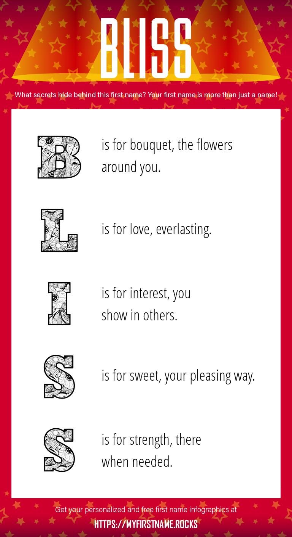 Bliss Infographics