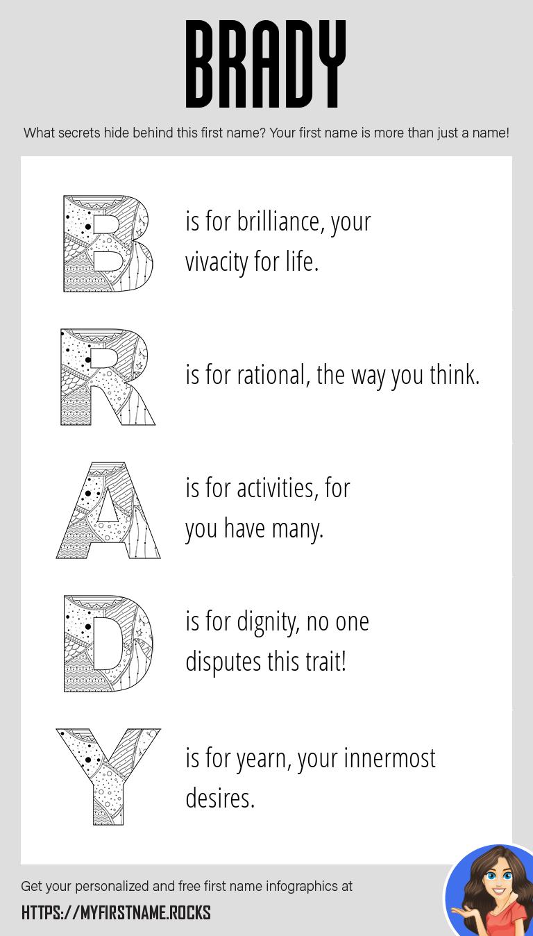 Brady Infographics