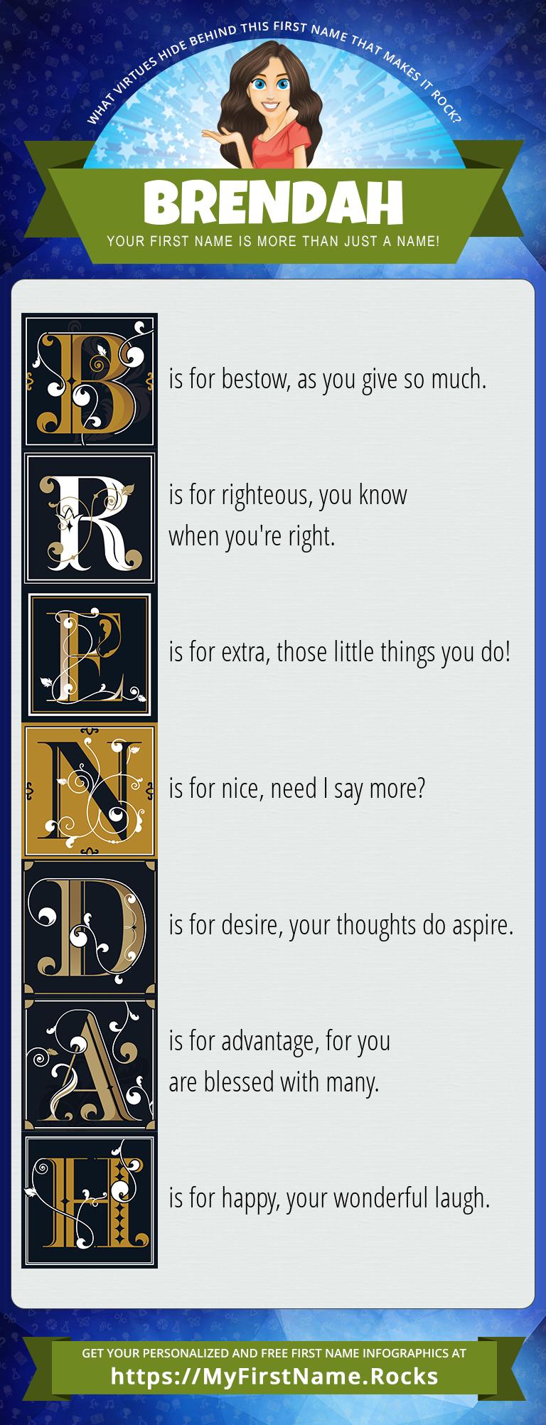 Brendah Infographics
