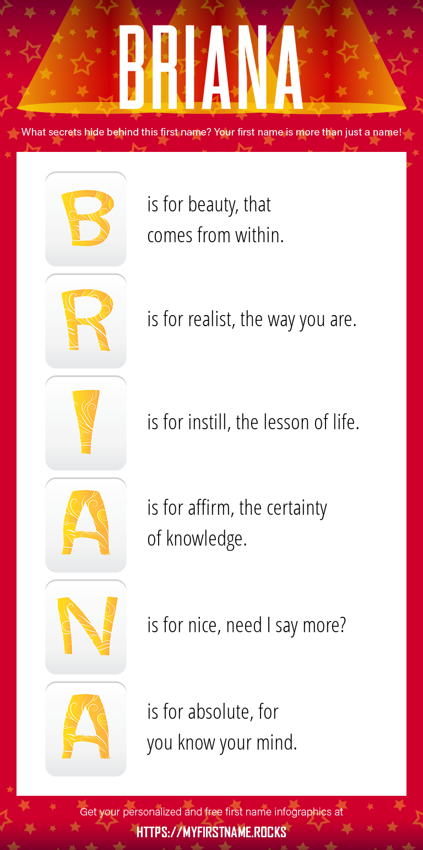 Briana Infographics