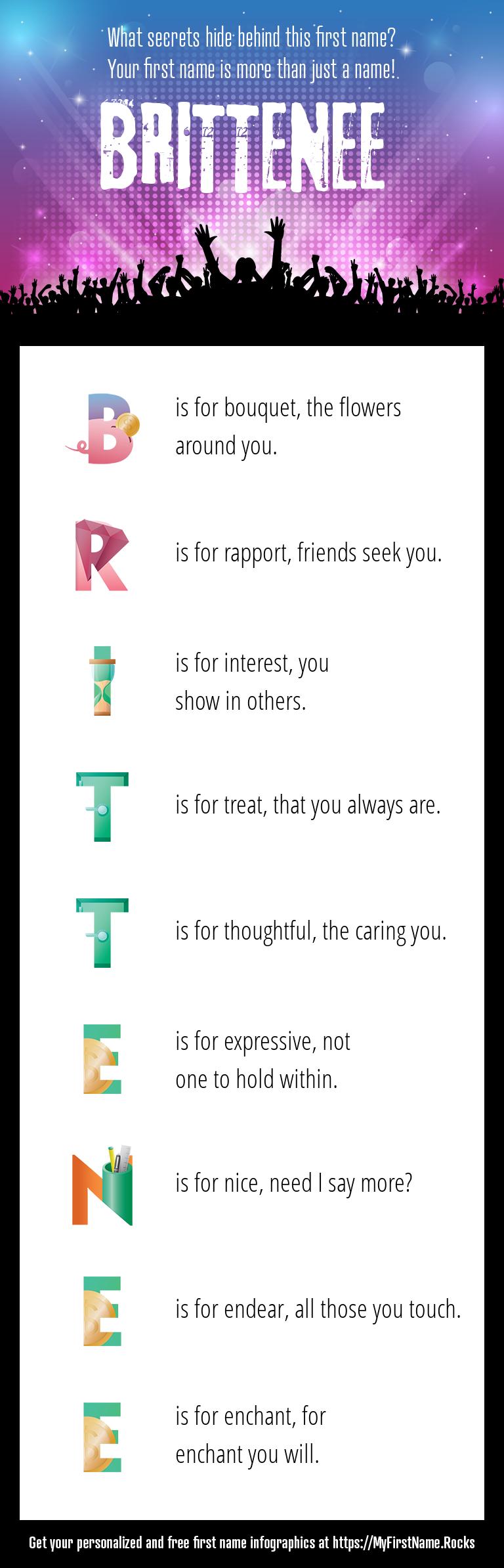 Brittenee Infographics