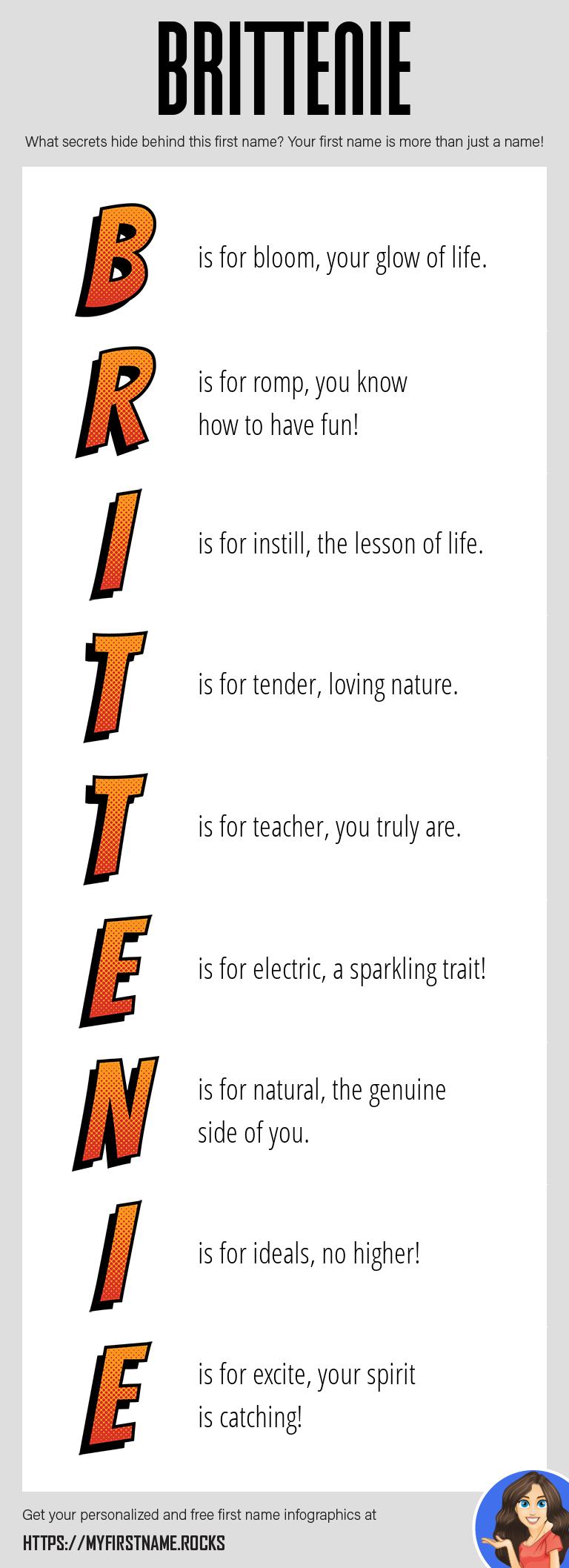Brittenie Infographics