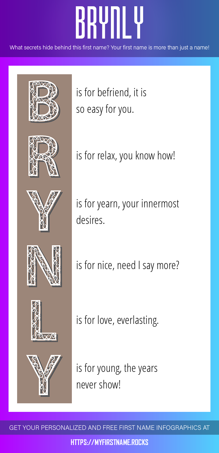 Brynly Infographics