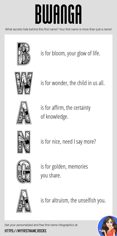 Bwanga Infographics