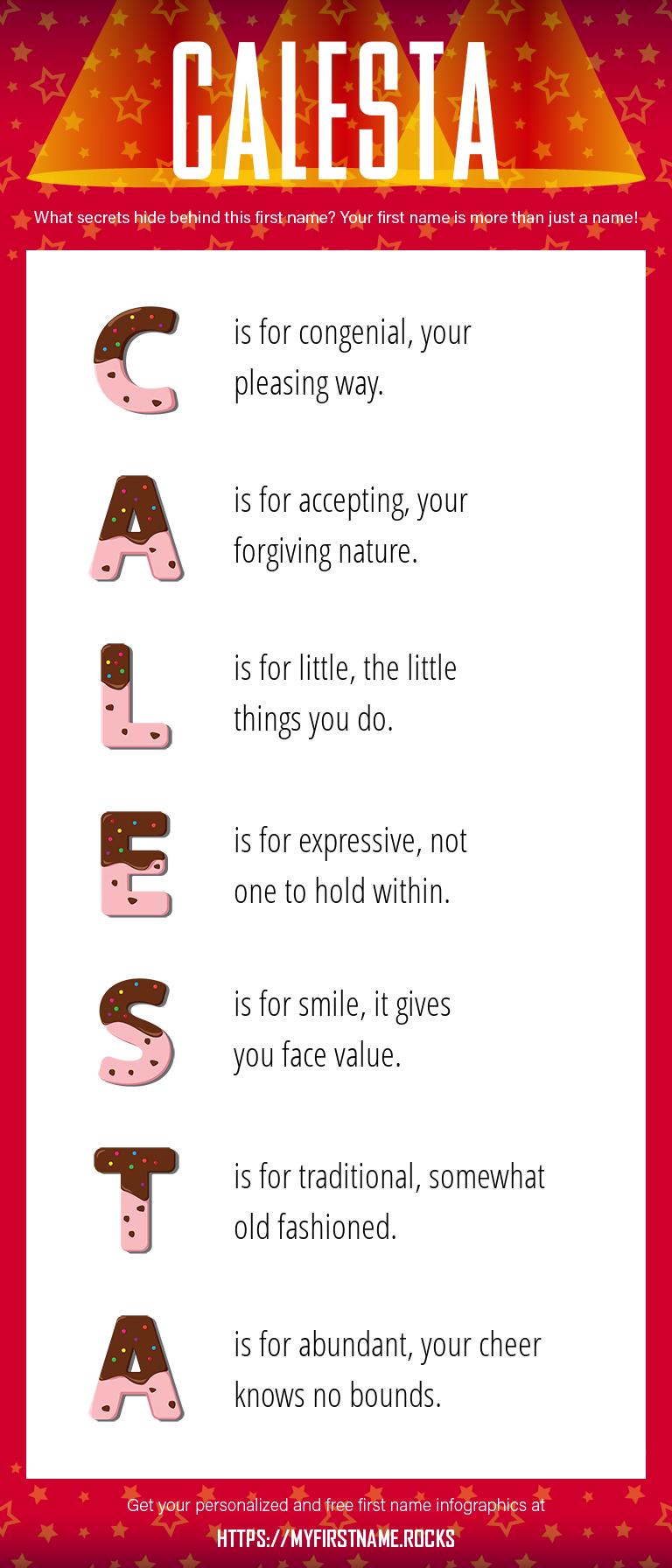 Calesta Infographics