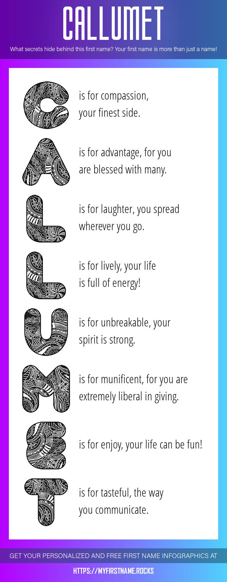 Callumet Infographics